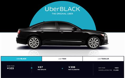Car Types For Uber by How To Use Uber In Tokyo Is It Worth It Tokyo Owl