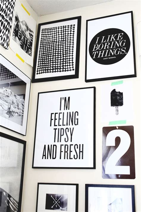 printable quotes for gallery wall how to style a corner gallery wall a beautiful mess