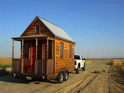 one of shafer s original tumbleweed tiny houses for