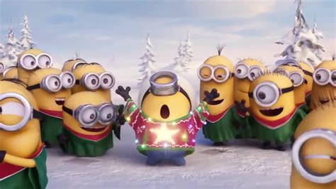 merry christmas minions happy holidays  despicable  hd youtube