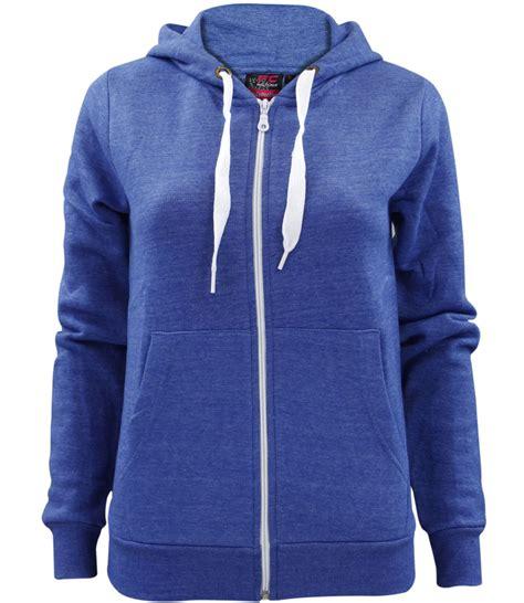 Evio 135 Jaket Hoodie Blue Navy new plain zip up hoodie sweatshirt