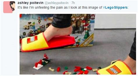 lego slippers uk lego creates padded slippers to prevent adults from