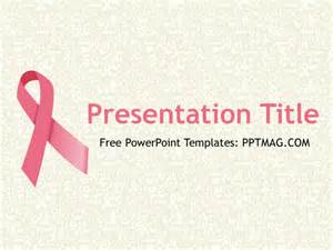 Cancer Powerpoint Templates by Free Breast Cancer Powerpoint Template Pptmag