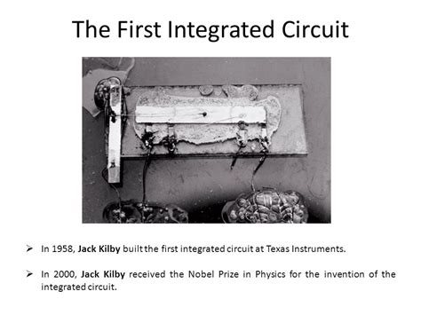 how did the invention of the integrated circuit impact computer design digital design principles and practices ppt