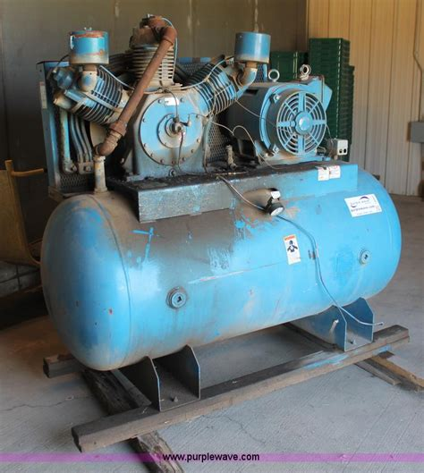 leroi 880a air compressor no reserve auction on tuesday october 08 2013