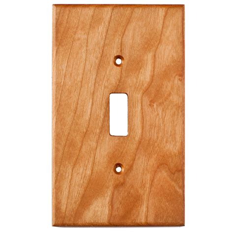 oak light switch covers cherry wood wall plates 1 gang light switch cover