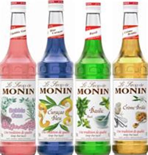 Monin Syrups   Udal Supplies   For Caffe, Coffee, Bar, Club and Restaurants