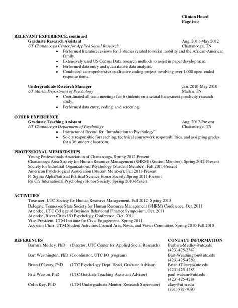 Sample Resume Business Development Manager by General Resume Clinton D Hoard