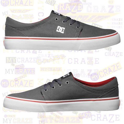dc shoes mens trase tx casual canvas sneakers mycraze