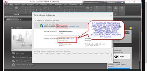 Problema Con La Activaci 211 N Licencia Educacional Autodesk