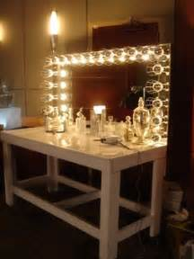 Makeup Mirror With Lights Rental Large White Make Up Mirror Miami Prop Rental