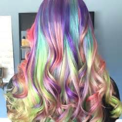 colorful hairstyles psychedelic rainbow hairstyles sand hair