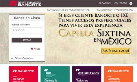 banco en linea banorte falla de token banorte toluca estado de m 233 xico mexico
