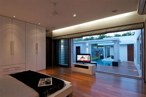 minimalist bungalow  india idesignarch interior