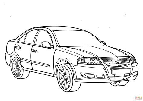 nissan cars coloring pages nissan coloring pages coloring nissan almera coloring page free printable coloring pages