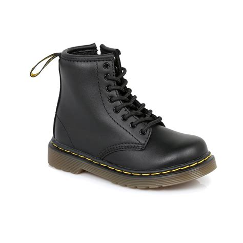 size 6 boots for dr martens black brooklee leather boots sizes 6 9 ebay