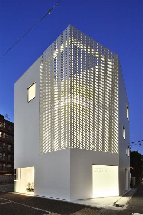 the white house design company perforated building facades that redefine traditional design