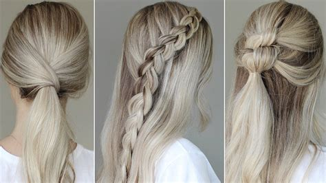 quicken easy hairstyles for school easy back to school hairstyles 2017