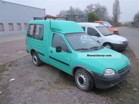 opel combo 1996 opel combo 1996 estate minibus up to 9 seats truck photo