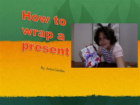 how to wrap a present ppt how to wrap a present powerpoint presentation id