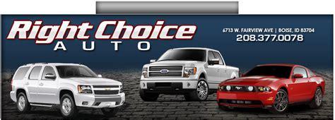 choice auto boise id read consumer reviews browse    cars  sale