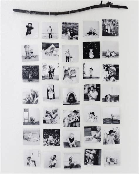 Accrocher Des Photos Sur Un Fil by 5 Fa 231 Ons D Accrocher Vos Photos Ou Polaroid Sur Vos Murs
