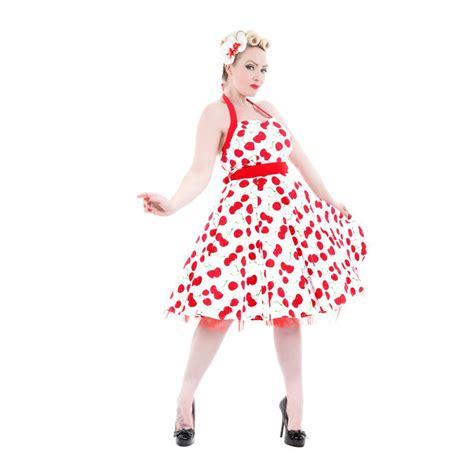 swing kleider 50er hearts roses 50er pin up cherry kirschen swing petticoat