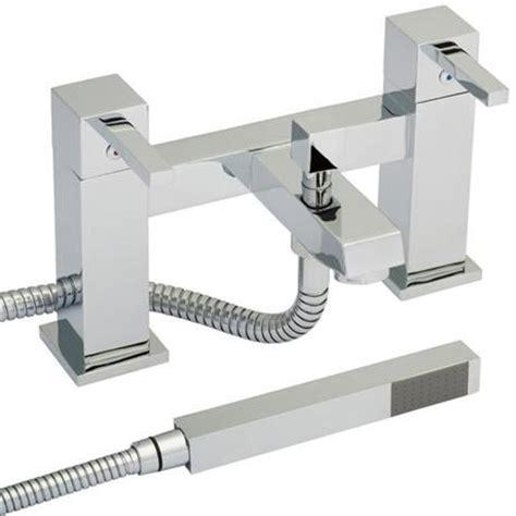 Bath Mixer Tap With Shower Attachment ergonomic designs square bath filler mixer tap with shower