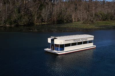 glass bottom boat tours marathon fl florida s special places wakulla springs state park