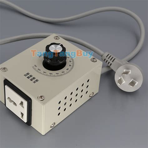 variable fan speed controller 4000w ac 220v variable voltage controller for fan speed