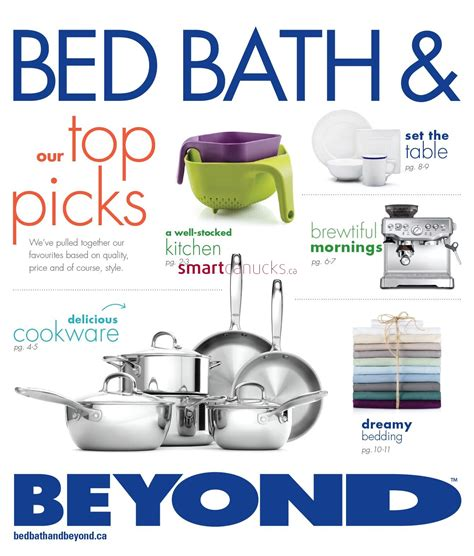 bed bath and beyaond bed bath beyond canada flyers