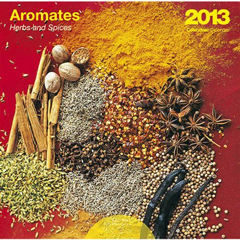 Spices Calendars Herbs Spices 2013 Wall Calendar Calendars