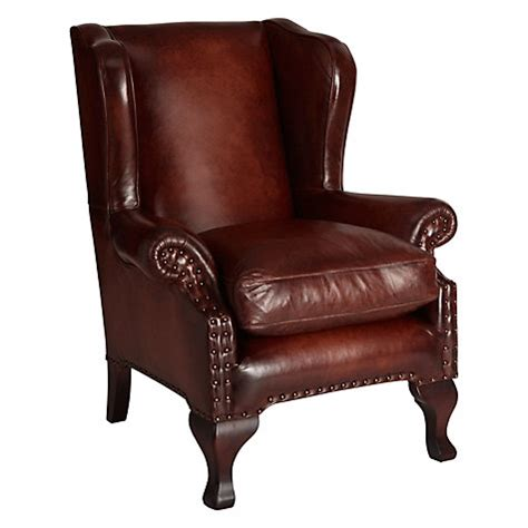 john lewis armchairs buy john lewis compton leather wing armchair antiqued