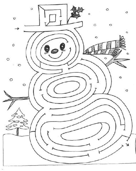 winter maze worksheets 25 best ideas about mazes for on mazes preschool learning and pre school