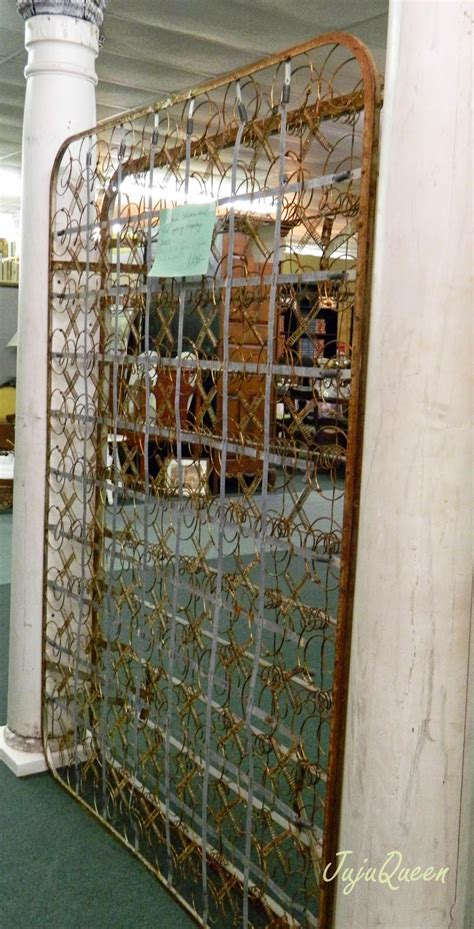 bed springs judy hanks pimperl rusty bed spring room divider at