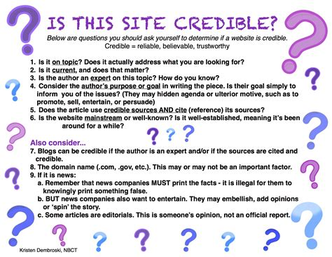 credible websites for research papers credible websites for research