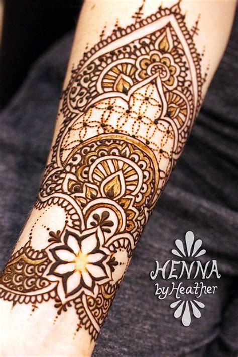 henna by heather inner forearm cuff henna design henna