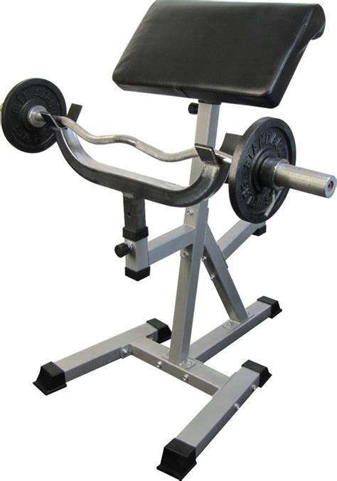 standing preacher curl bench standing arm curl preacher bench with pivoting arm pad