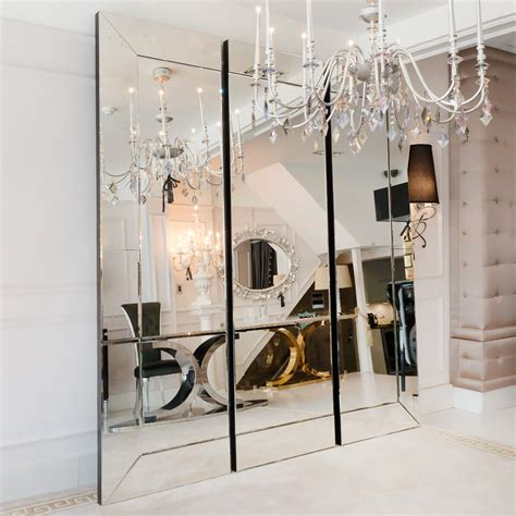 Sectional Mirrors large venetian style sectional mirror