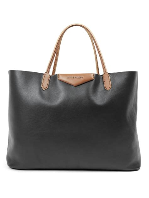 Givenchy Two Tone Purse by Lyst Givenchy Antigona Large Two Tone Leather Tote In Black