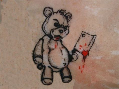 teddy bears tattoos designs tattoos