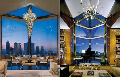 penthouses in new york inside 13 of new york city s best hotel penthouses curbed ny