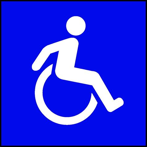 new wheelchair symbol sign collection blogs pinterest