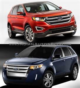 2015 ford edge vs model front indian autos