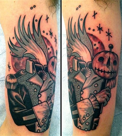 headless horseman tattoo 26 best images about headless horseman on