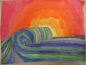 miss young s art room warm and cool colors with 6th grade