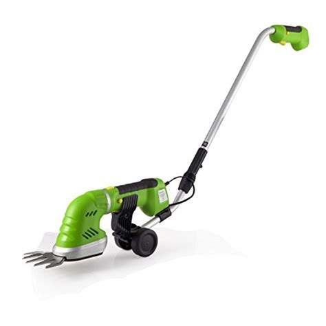 SereneLife Cordless Pole Grass Cutter Shears, Electric