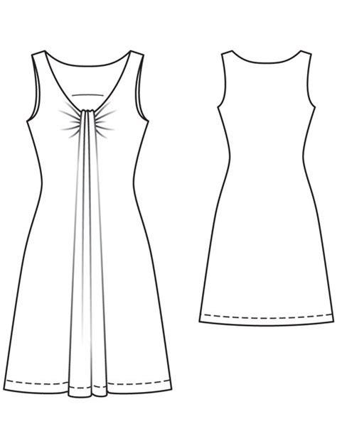 pattern for jersey dress jersey dress 02 2013 114 sewing patterns burdastyle com