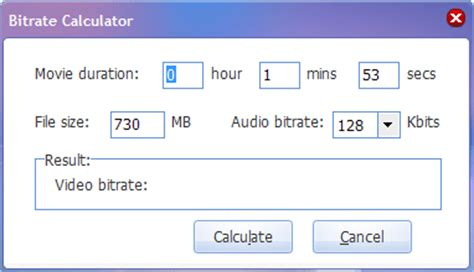 video format file size calculator how to get higher quality of divx movies and suitable file