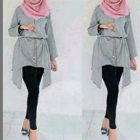 Blouse Ananda limited edition tunik ananda kemeja atasan blouse